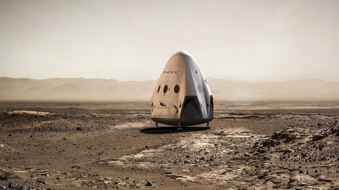SpaceX announces 2018 mission to Mars