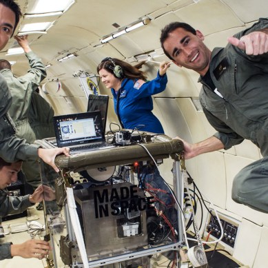 Scientists travel to the edge of space to 3D print a heart
