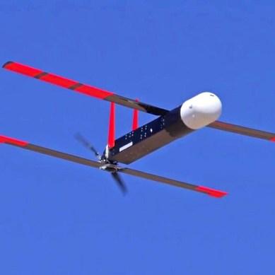 New US Navy launcher fires swarms of autonomous drones into the sky