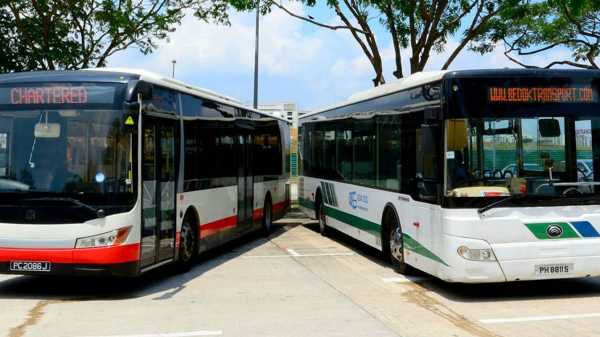Singapores self-driving buses to get their own routes in 2018
