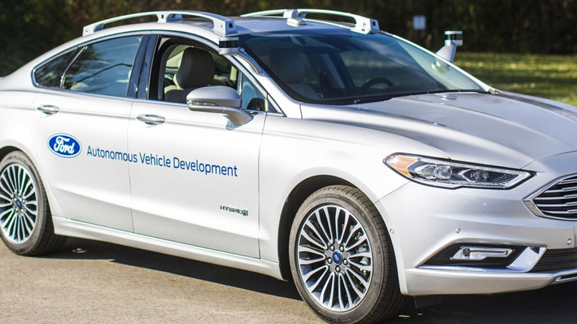 Fords latest self-driving car looks surprisingly normal
