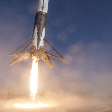 SpaceX makes history launching its first recycled rocket
