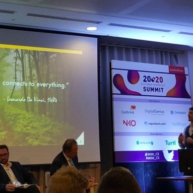 Futurist keynote, London: The Future of Customer Experience, Marketforce CX20:20 Summit