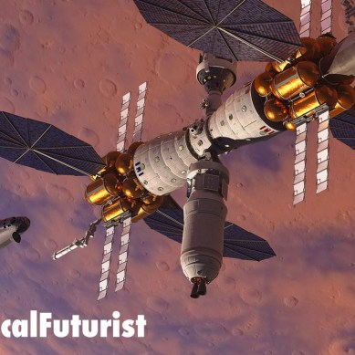 Lockheed show off their orbiting Mars station concept