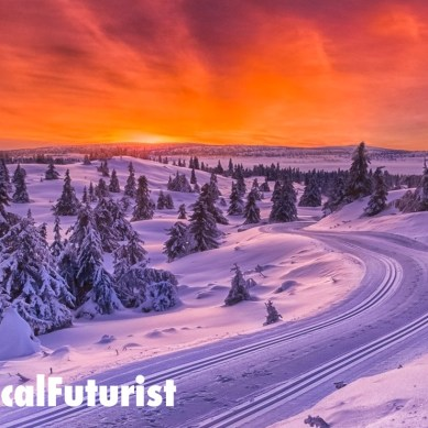 Nvidia's newest AI turns sunny streets into snow filled ones in real time