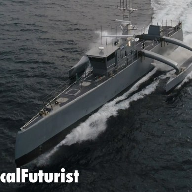 DARPA hands the world's first fully autonomous drone warship to the US Navy