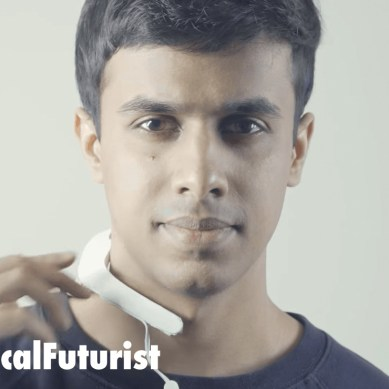 """MIT's """"mind reading"""" wearable let's you silently interact with all your devices"""