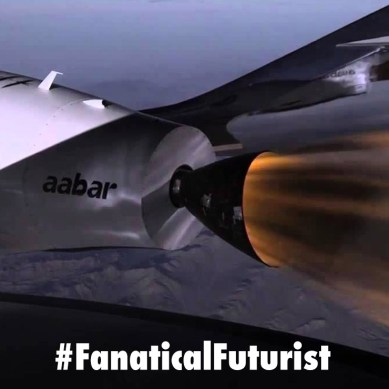 Virgin Galactic soars into space and the record books with succesful test flight