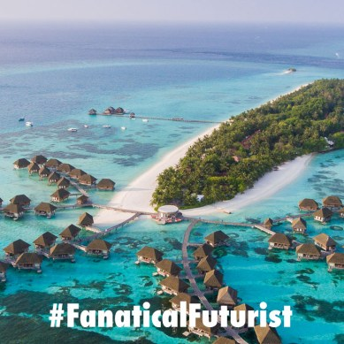 The Maldives Government announces plans to build the world's first ocean city