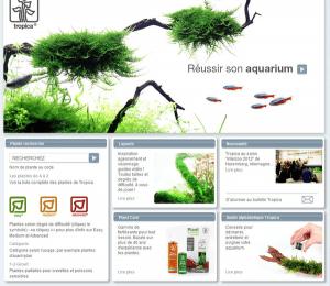 Website of the Danish specialist Tropica