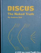 "Couverture de l'ouvrage ""Discus, The Naked Truth"" d'Anfrew Soh"