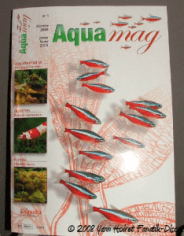 Couverture d'AQUAMAG Magazine