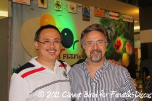 Eric Tiu et Cuneyt Birol Petfish 2011