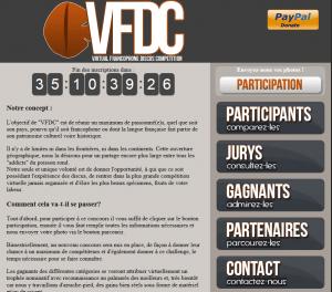 Site internet du VFDC