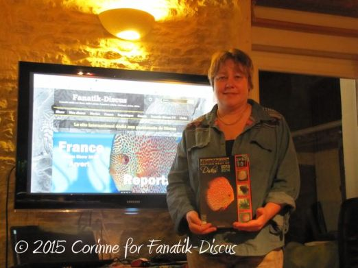 Corinne gagnante livre Diskus Yearbook 2013-2014