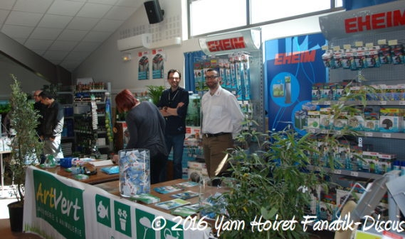 Stands France Discus Show 2016 Arvert