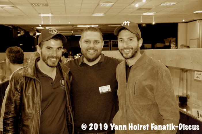 Dagbarama Discus Farm Israel et Yann Hoiret