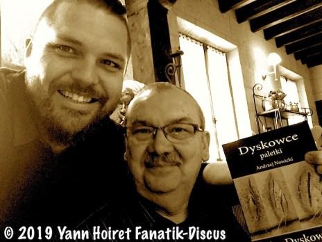 Yann Hoiret et Andrzej Nowicki Paris 2019