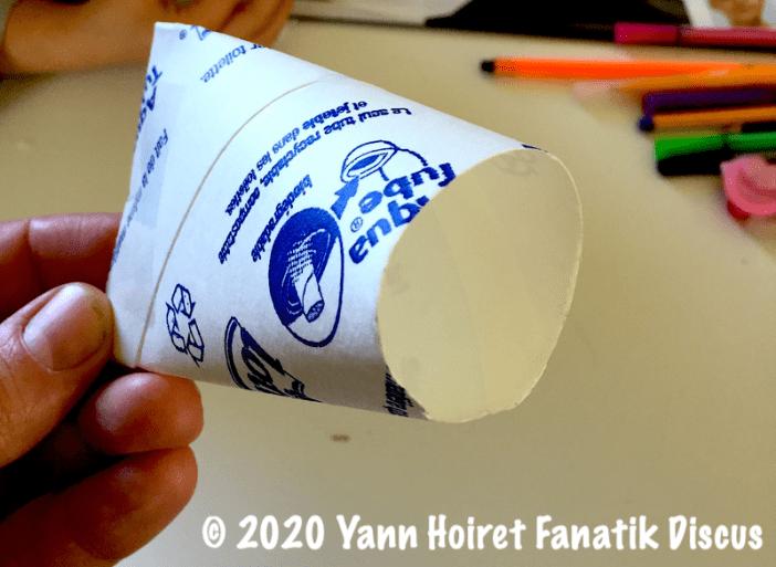 Rouleau papier toilette le corps du poisson