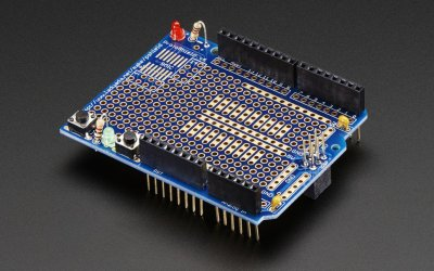 Proto Shield for Arduino Kit – Stackable Version R3