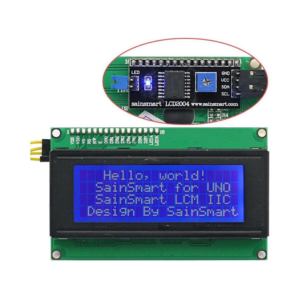 LCD QC2004A + convertitore I2C