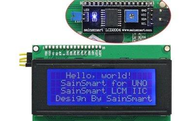 LCD QC2004A display 4 righe con convertitore I2C
