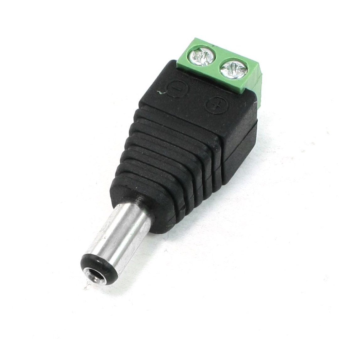 5.5 x 2.1mm DC Power Connettore maschio