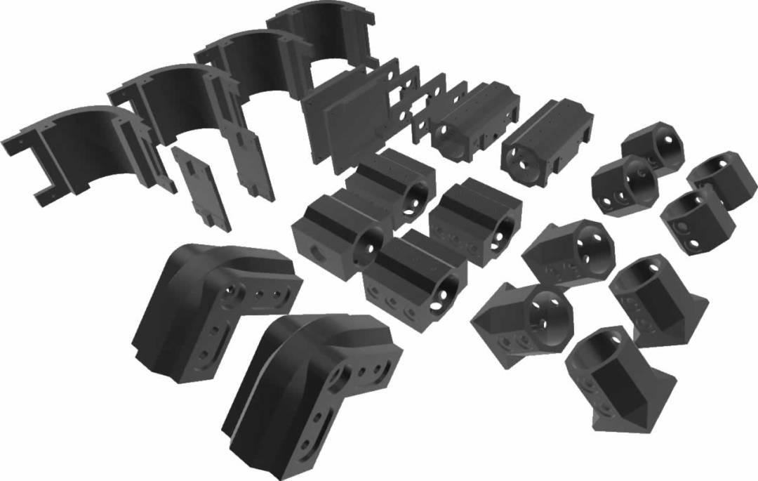 Rocker Tubie 3D Printed Part Kit