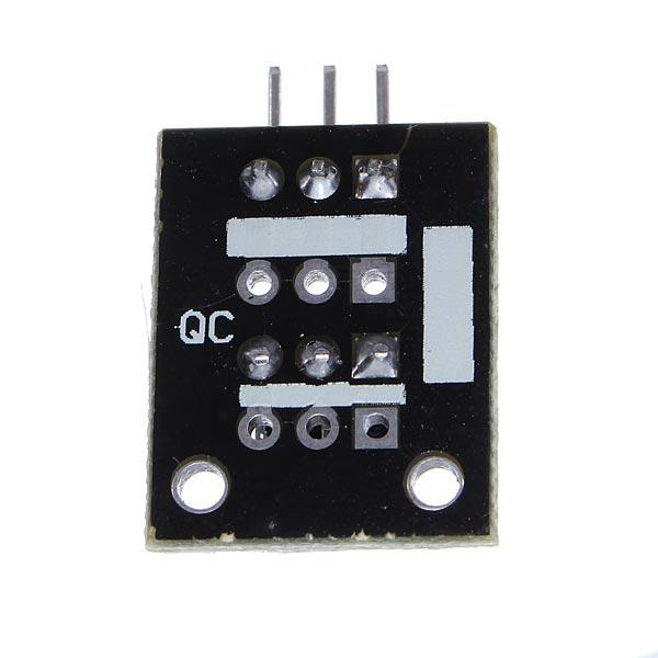 Modulo infrarossi a tre pin, vista dal basso