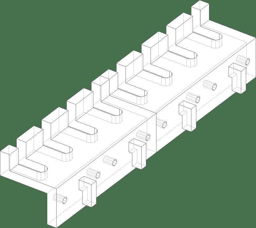 Accessorio per pannello portautensiliFIXKIT