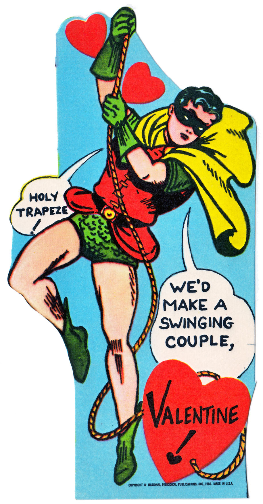 Surprise Your Valentine With Batman Cards From The 60s