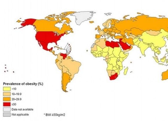 obesity map