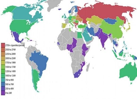 smoking map