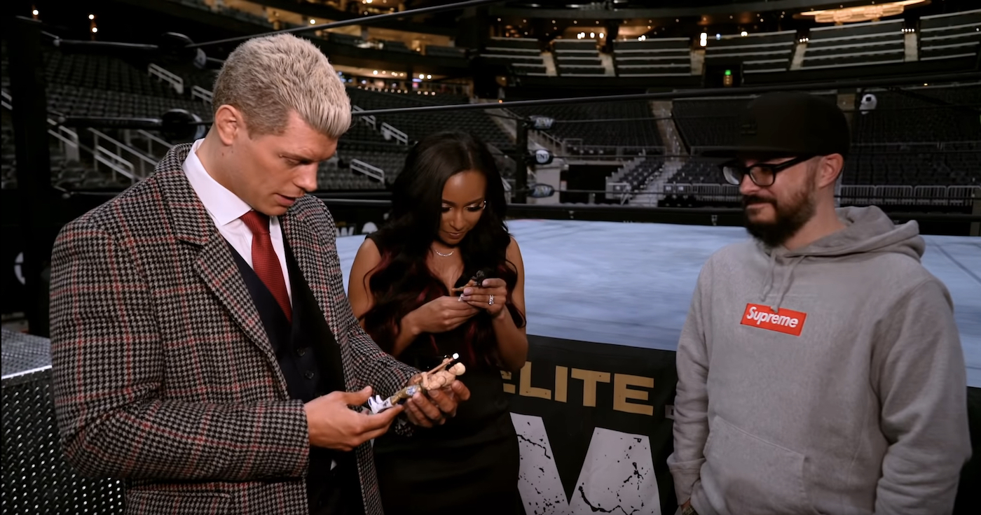Let S Imagine The Ideal Aew Action Figure Collection