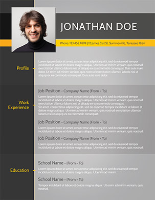 Modern Resume Templates Free - Resume Sample