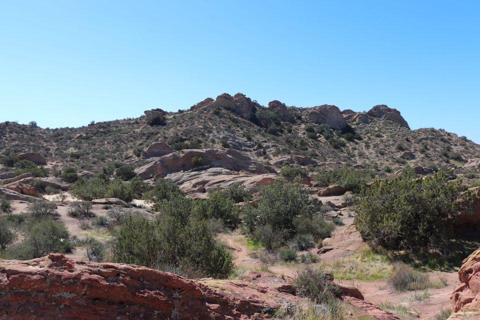 side of cliffs