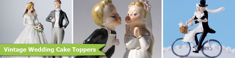 Vintage Wedding Cake Toppers From Fancy Flours Vintage Wedding Toppers