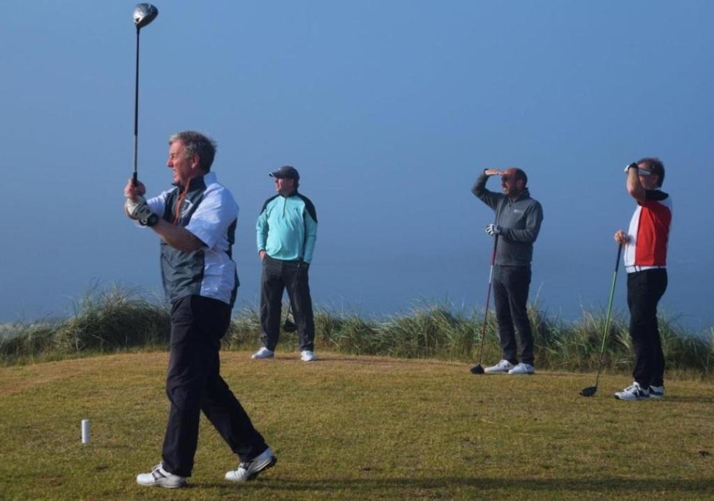 Top 16 Ireland golfers