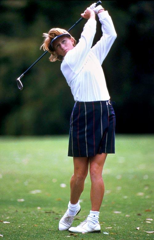 Famous New Zealand women golf players