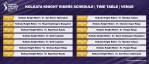 Vivo IPL 2021 Kolkata Knight Riders Schedule Full KKR Timetable | IPL 14 KKR Live Score | Match Date | Updates