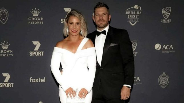 Amy Finch and Aaron Finch