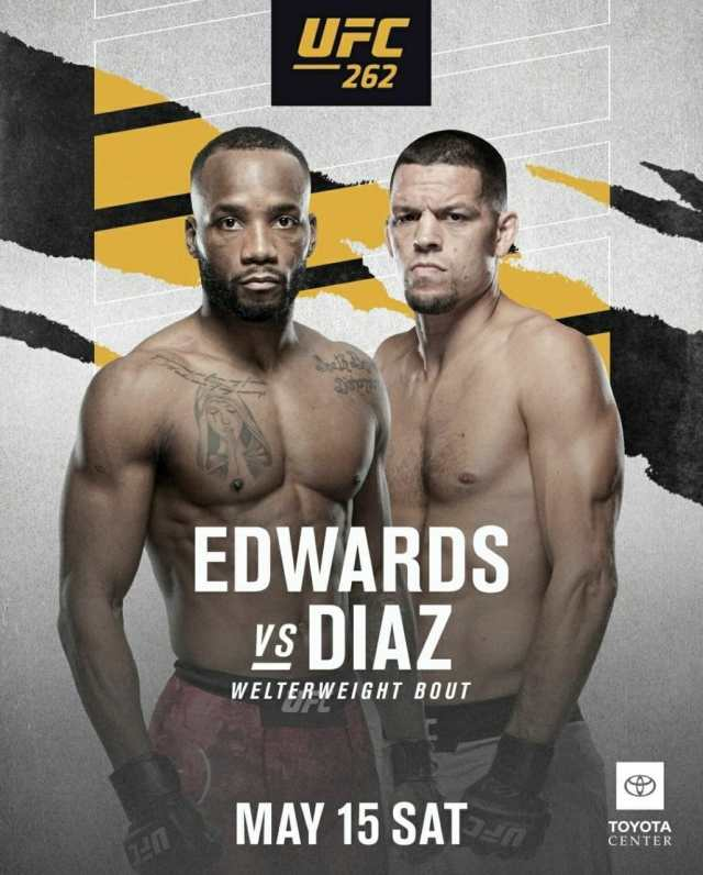 UFC 262 Edwards vs Diaz   Ultimate Fighting Championship Edwards vs Diaz