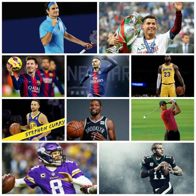 Top 10 Highest Paid Athletes in the World   List of Top Ten Richest Athletes