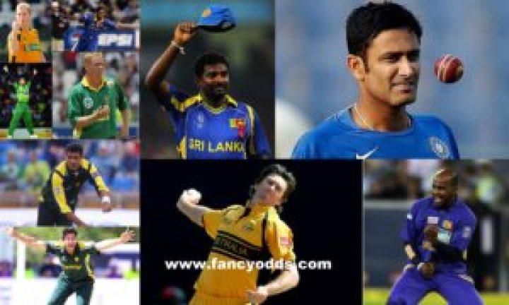 Top Ten Wicket Taker Bowlers in ODI Cricket   List of Top 10 Highest Wicket Taker Bowlers in ODI Cricket