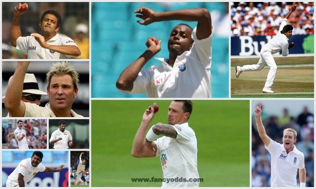 Top 10 Wicket Taker Bowlers in Test Cricket | List of Top Ten Highest Wicket Taker Bowlers in Test Cricket