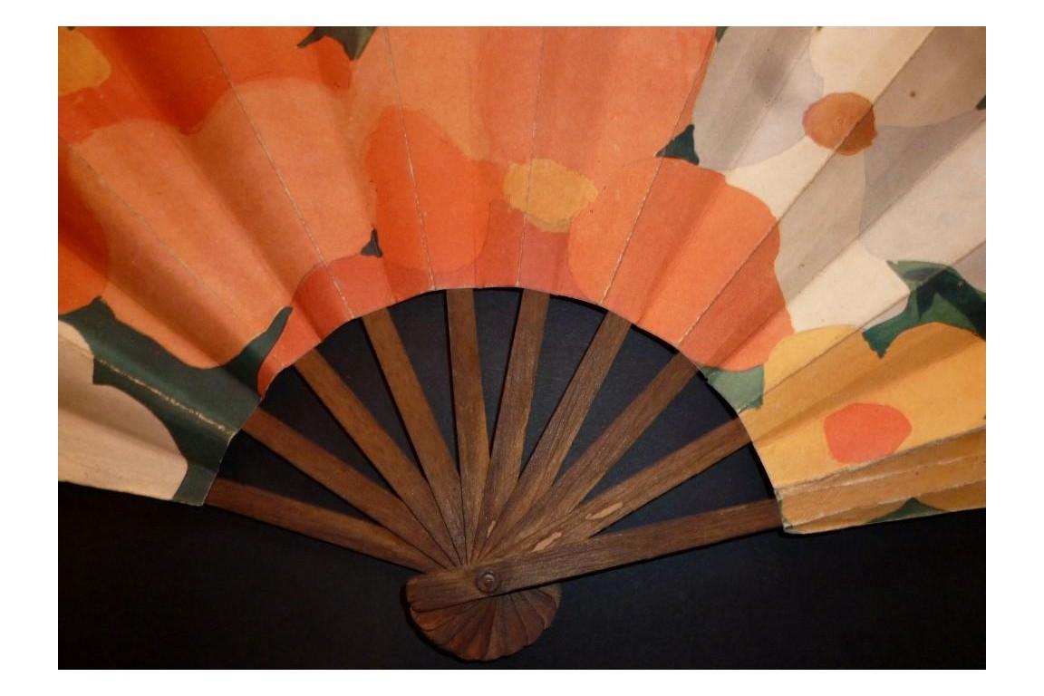 Rosine Paul Poiret Advertising Fan Art Deco Period Fan D Eventails