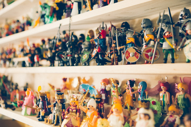 07 coleccion playmobil fandi