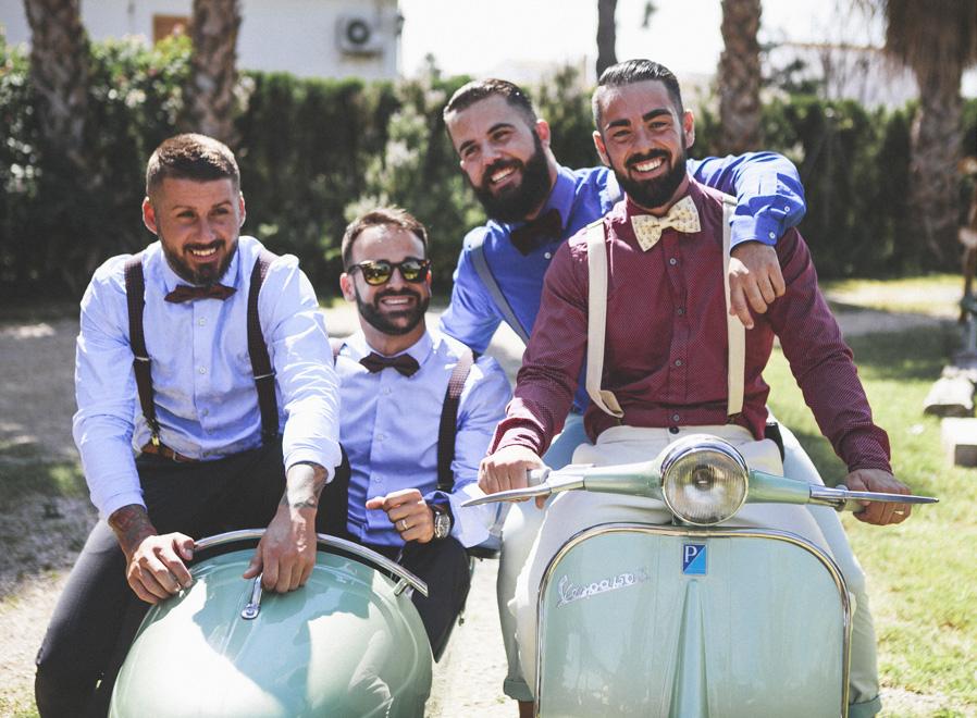 35 amigos novio alegria diversion sidecar