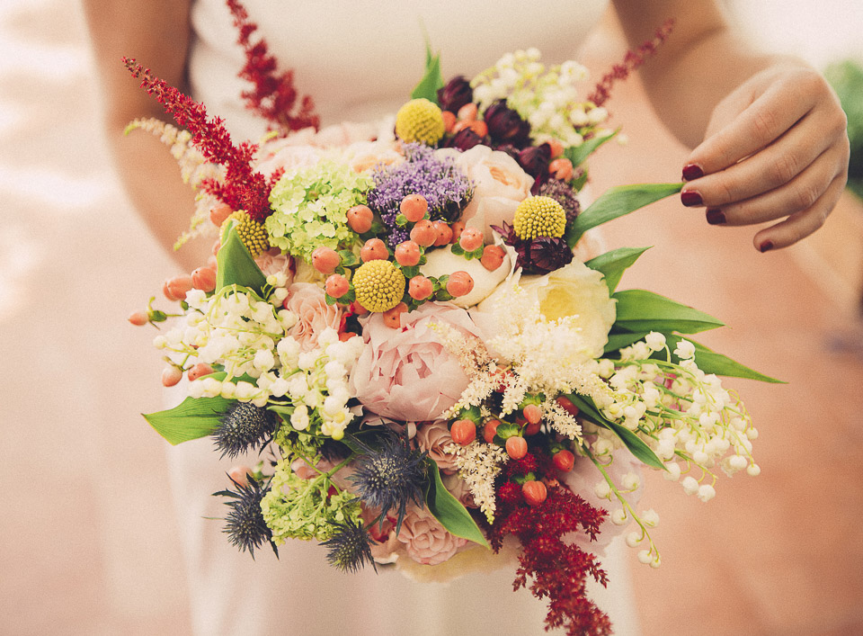 22 ramo de novia