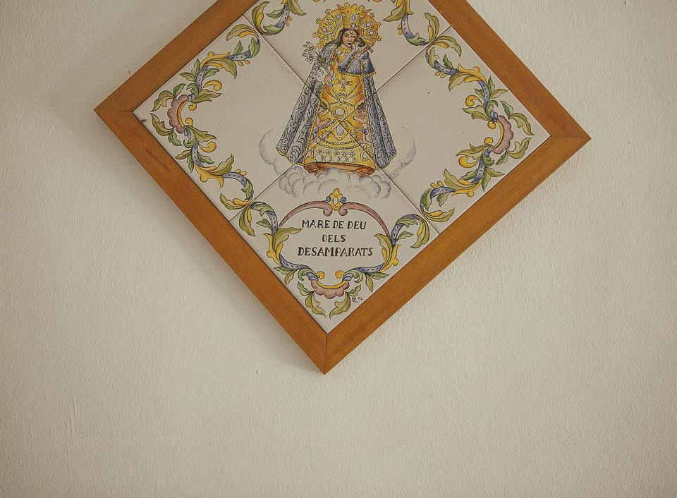 25 azulejo virgen de los desamparados